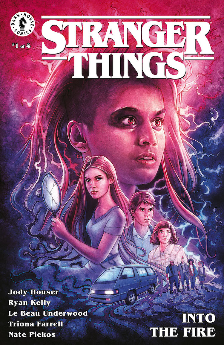 Stranger Things: Into The Fire #1 Cover B
