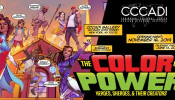 The Color of Power: Heroes, Sheroes,& Their Creators -An Exhibition Featuring the work of Comic Book Artists of the African Diaspora
