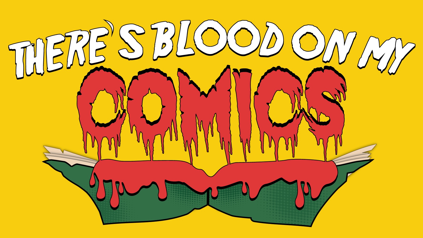 There's Blood on my Comics