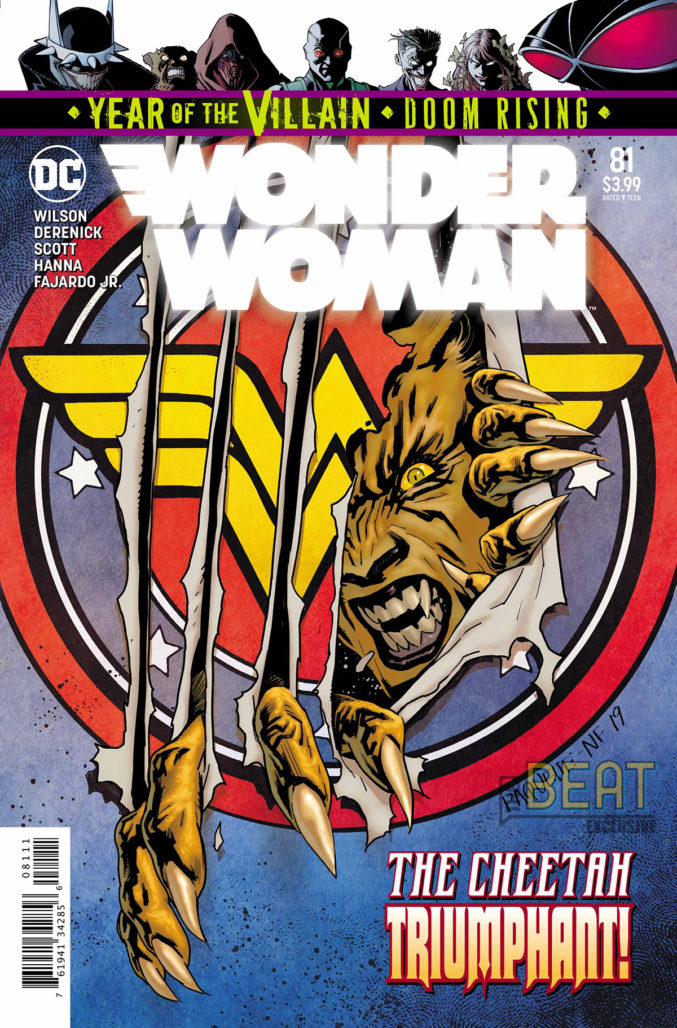 Wonder Woman #81 Preview Cover