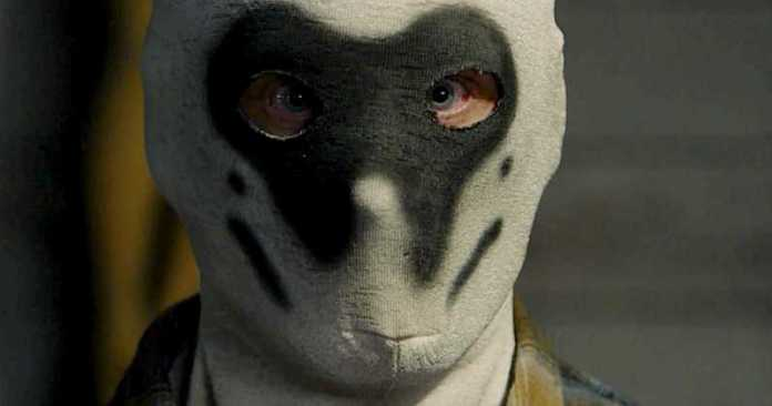 Rorschach masked Seventh Kavalry from Watchmen