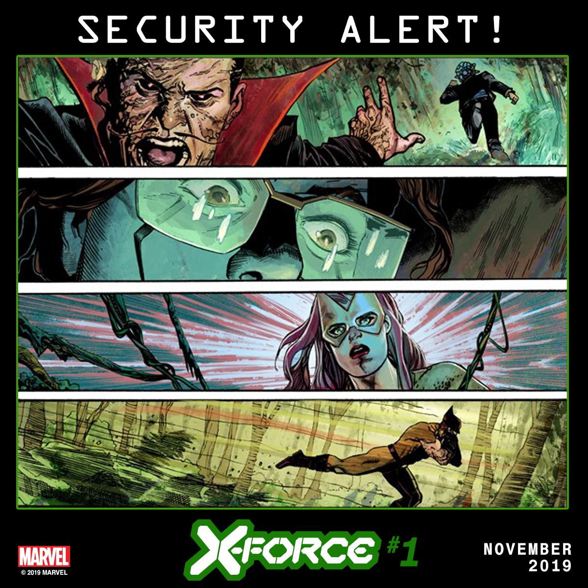 New X-FORCE teaser images hints at an emergency on Krakoa