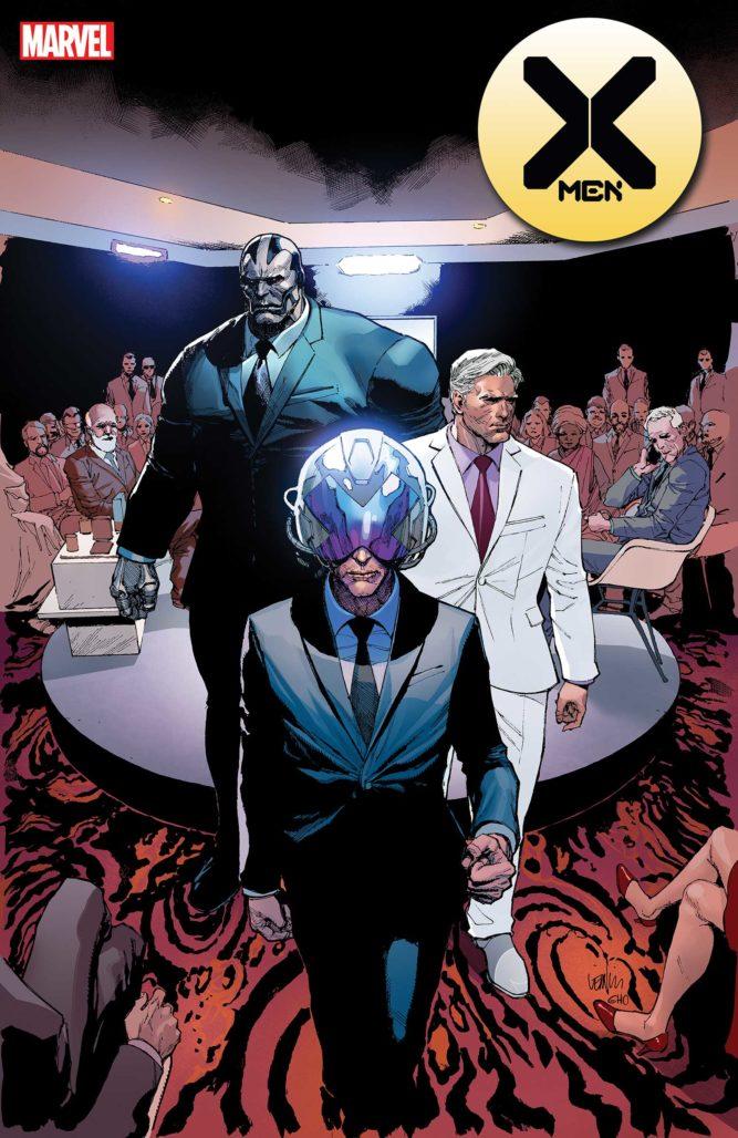 Updated X-Men #4 Cover