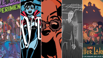 Crowdfunding Comics Round-Up 10/25: Dr. Love Wave and the Experiments - Spooky Babes - Elsa Charretier Artbook - Zed - Camp Bitter Lake