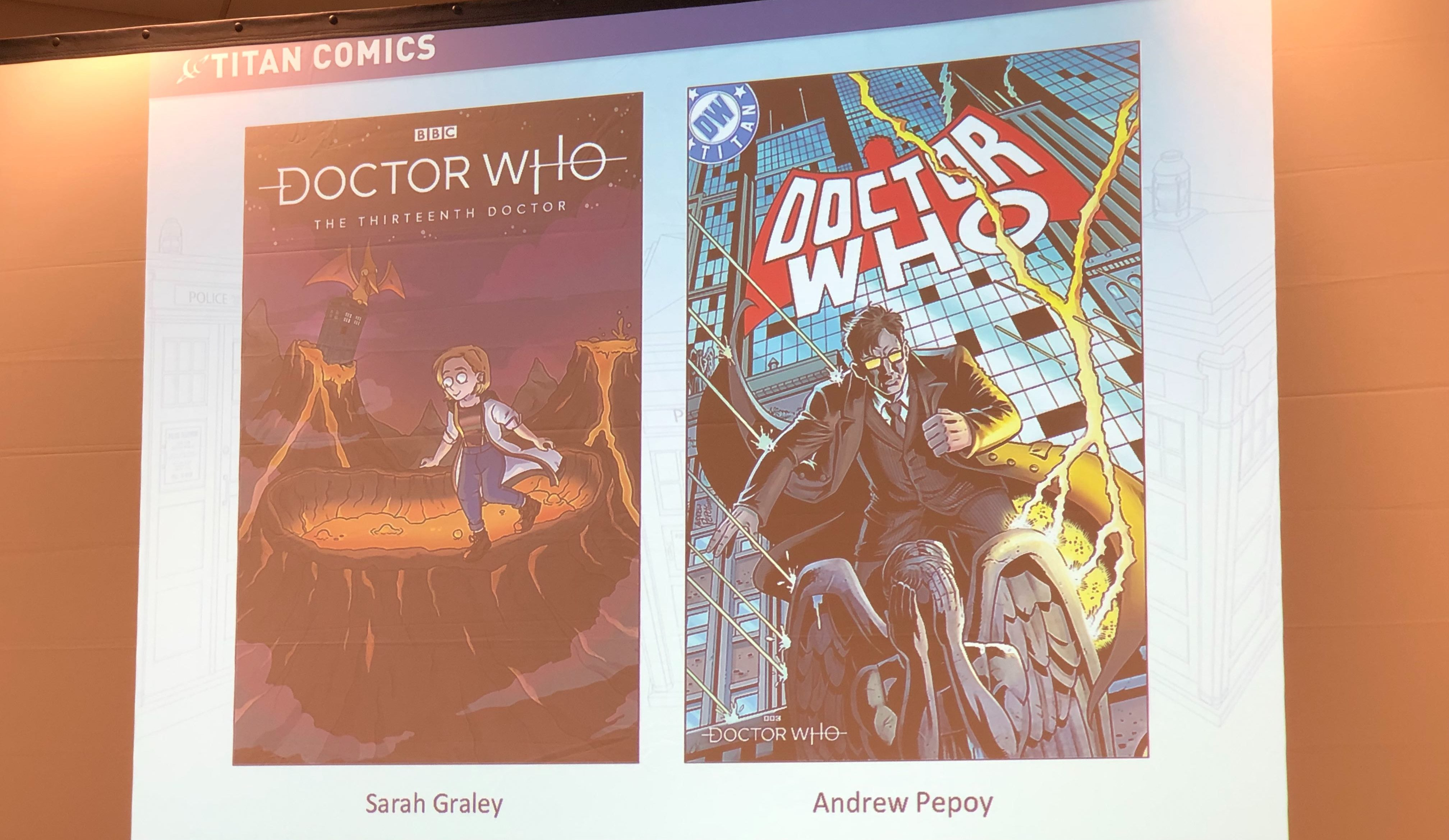 Doctor Who team-up