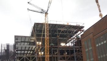 Javits construction