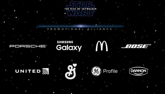 Rise of Skywalker promotional alliance