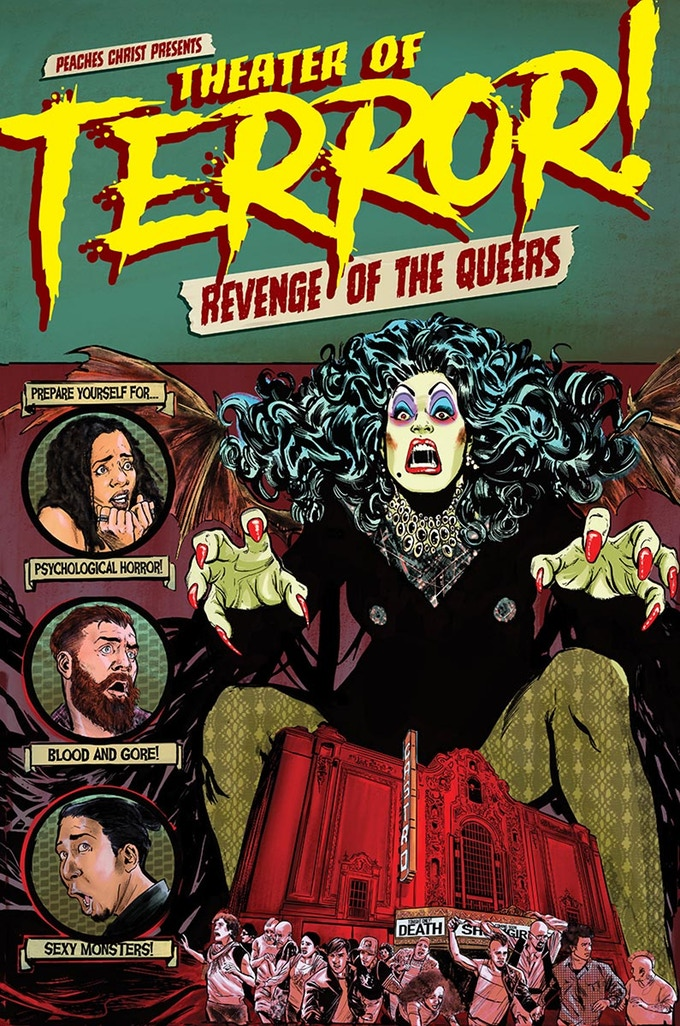 Queerness in Comics: THEATER OF TERROR!: REVENGE OF THE QUEERS