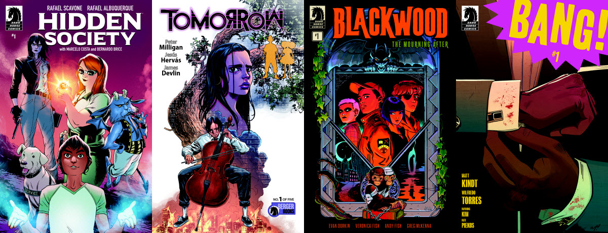Peter Milligan's TOMORROW and the return of BLACKWOOD highlight Dark Horse February 2020 solicitations