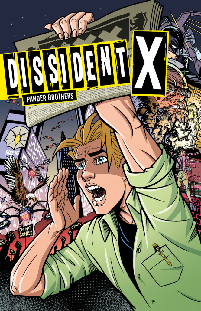 Dissident X Cover