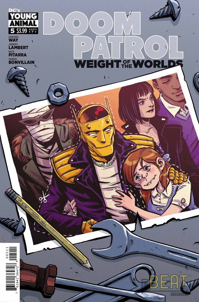 Doom Patrol: Weight of the Worlds #5 Preview Cover