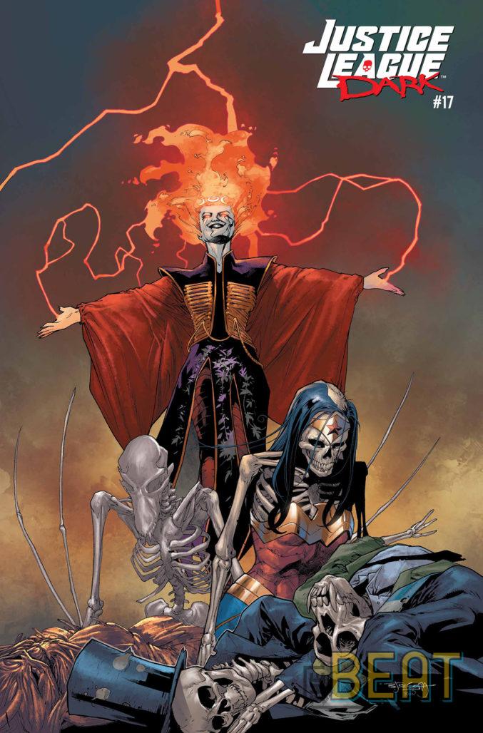 Justice League Dark #17 Cover