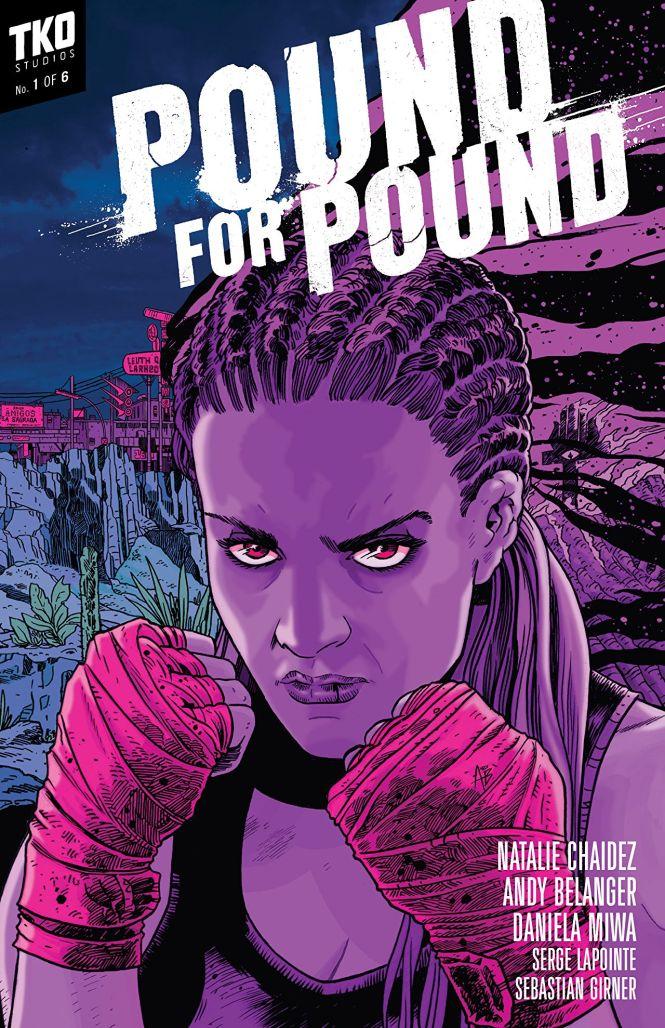 pound for pound TKO comics cover