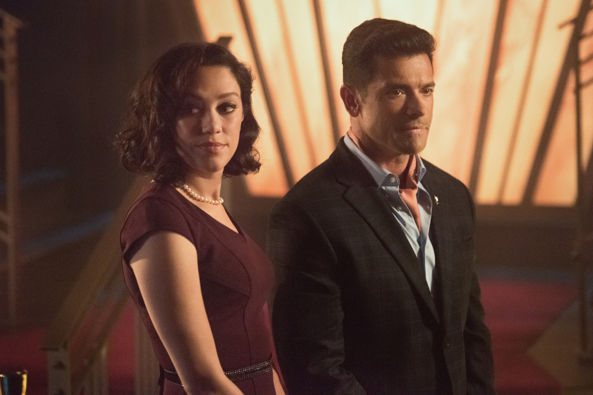 Hiram and Hermosa on Riverdale