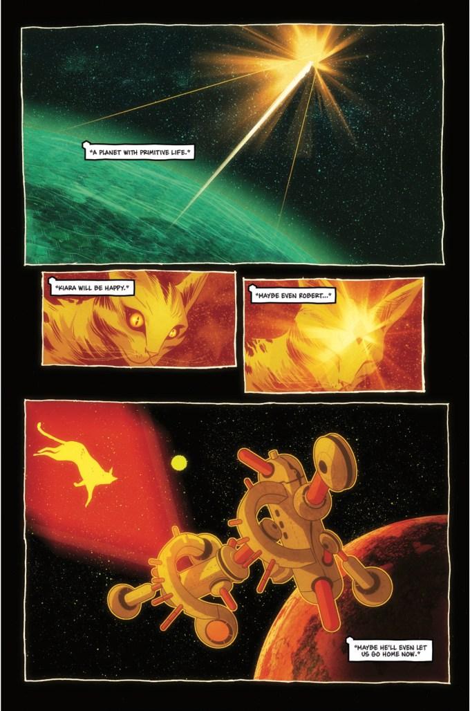 strayed comic page
