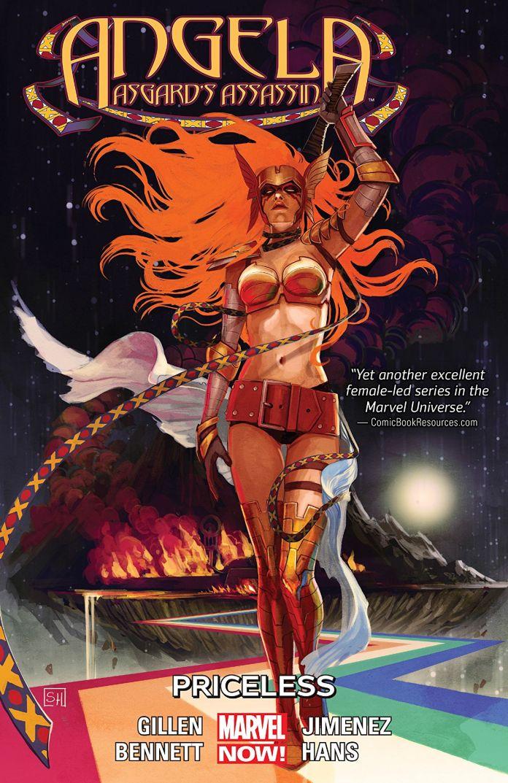50 queer comics: Angela: Asgard's Assassin