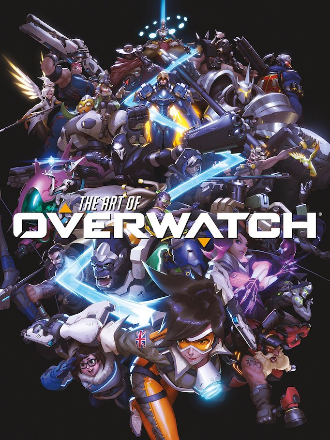 art of overwatch superhero game