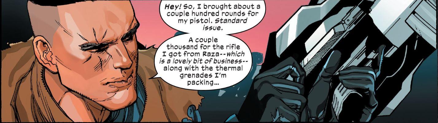Cable's big guns