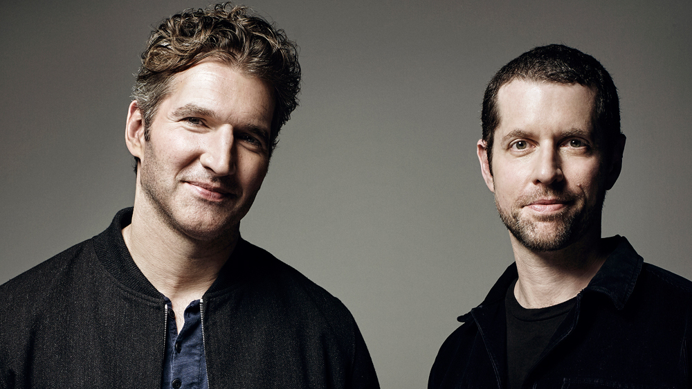David Benioff and D.B. Weiss, creators of Game of Thrones