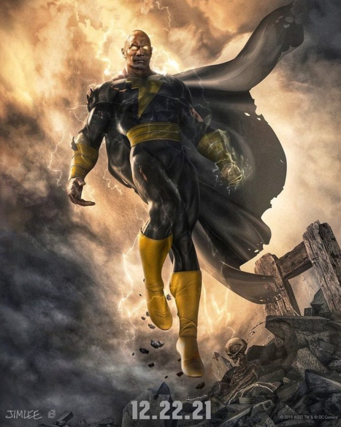 Black Adam Concept Art by Jim Lee and Boss Logic