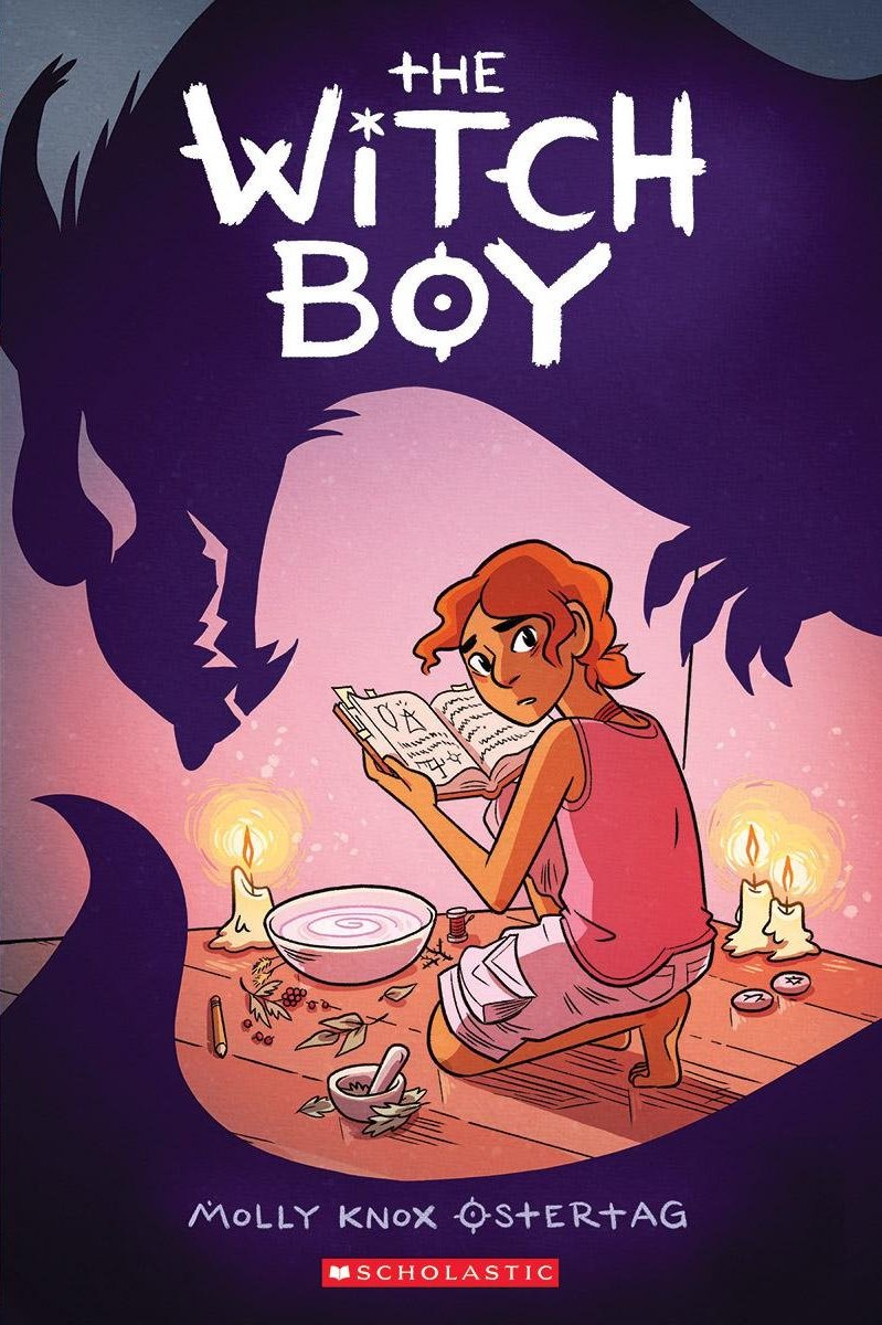 50 queer comics: The Witch Boy