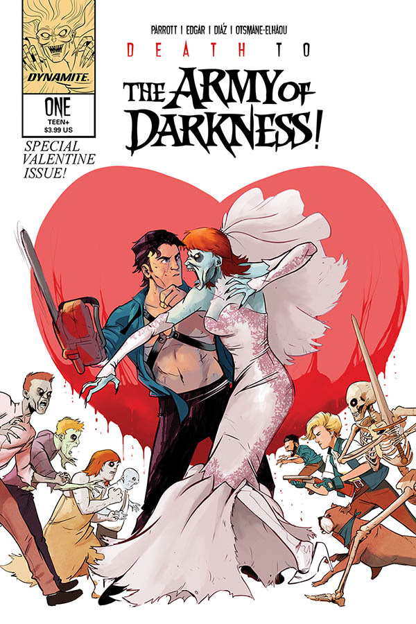 Dynamite Reveals Valentine Variant Covers for 2020