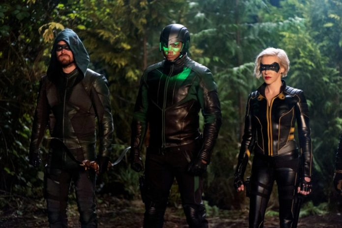 From ARROW S8E7; Photo: The CW.