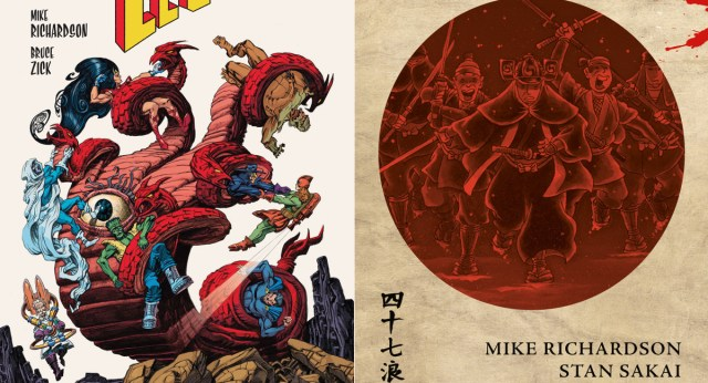 EXCLUSIVE: Dark Horse Comics to reissue THE ATOMIC LEGION & 47 RONIN in paperback editions