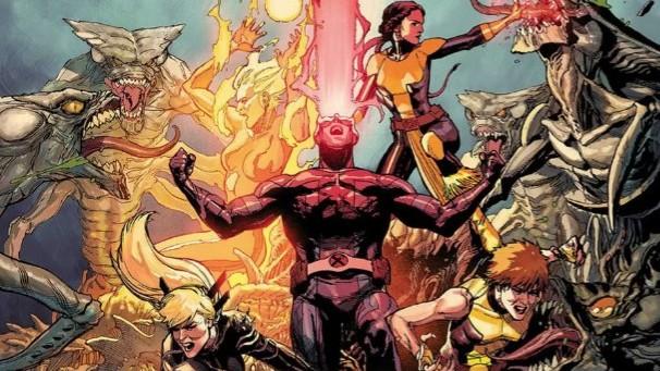 Cyclops New Mutants X-Men 8