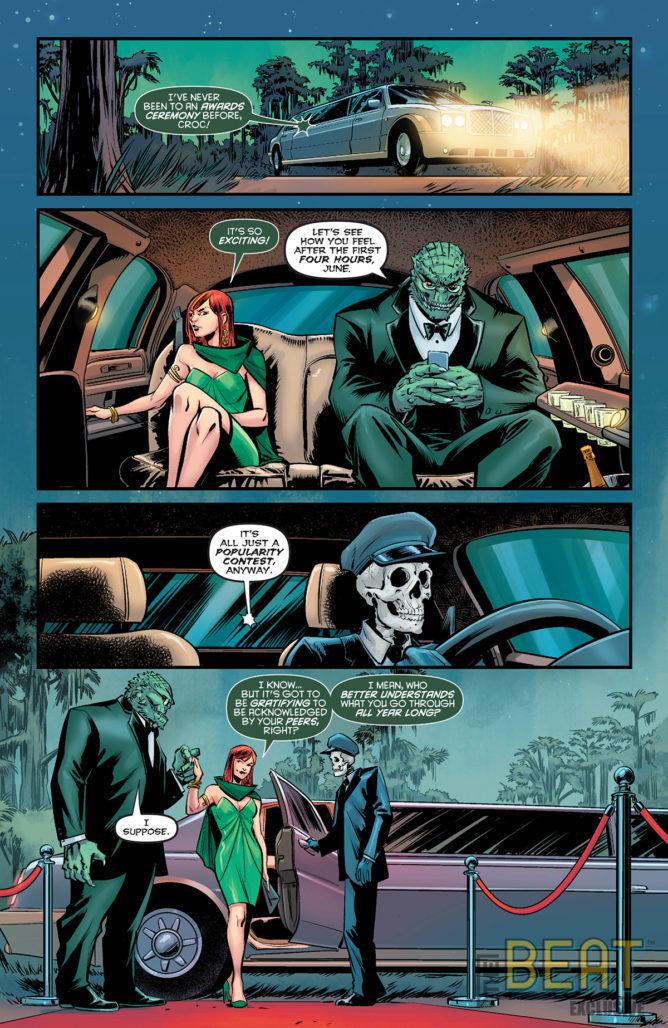 Harley Quinn's Villain of the Year Interior