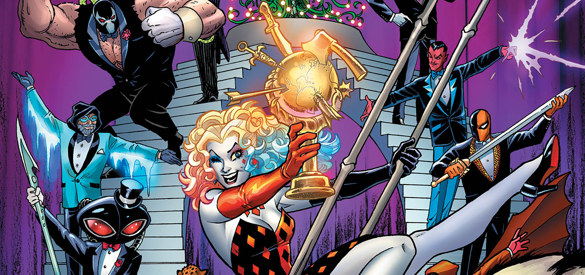 Image result for harley quinn villain of the year preview