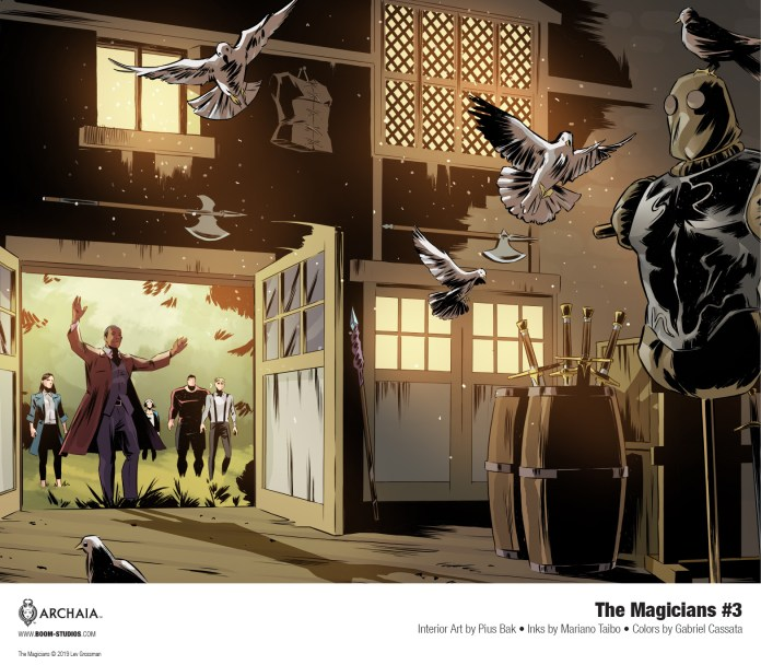 The Magicians #3 preview