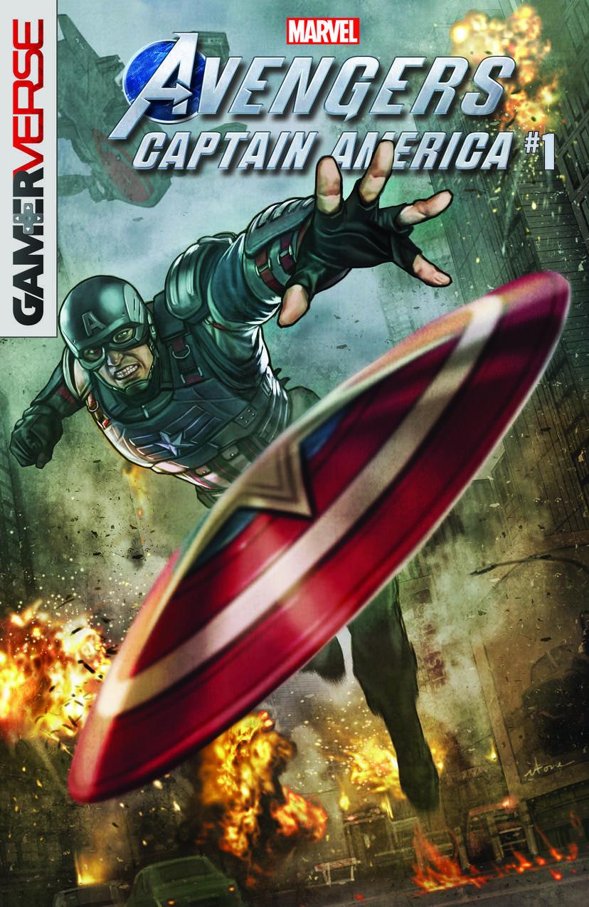 Marvel's Avengers: Captain America #1 game tie-ins