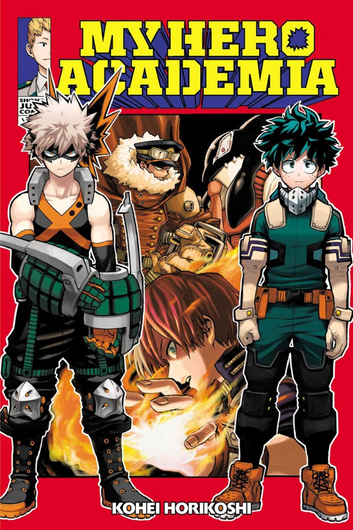 The 100 Best Comics of the Decade: My Hero Academia