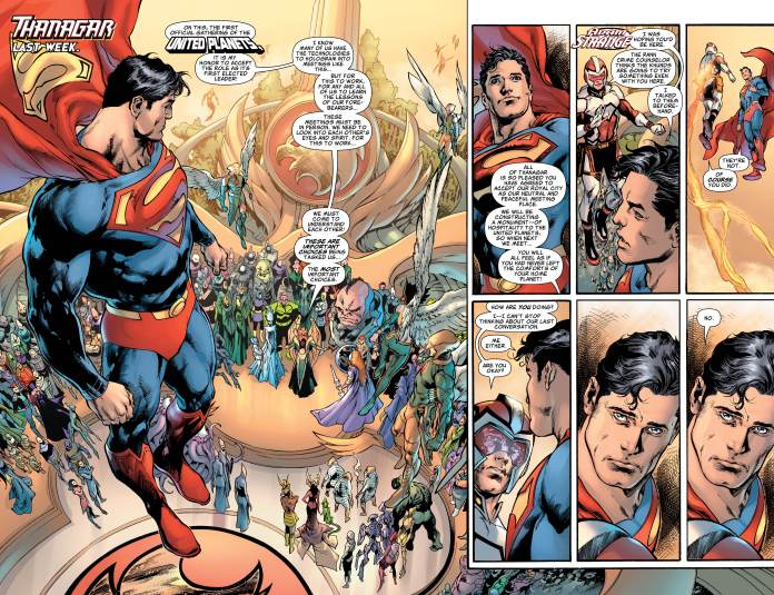 Superman #18 pages 4-5