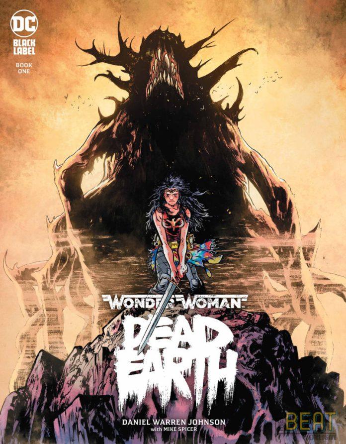 Wonder Woman Dead Earth