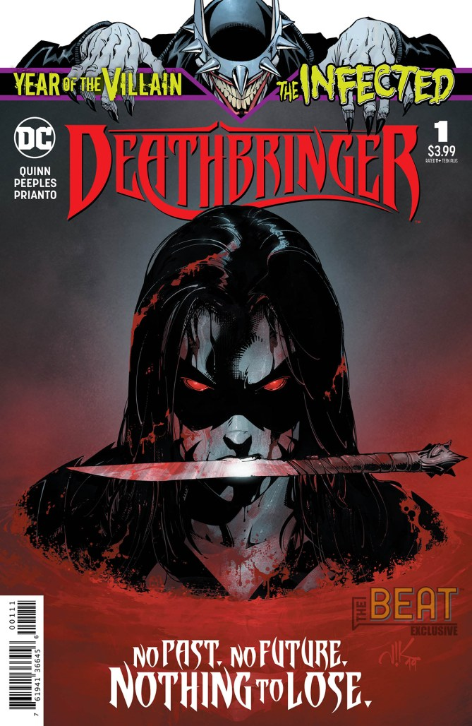 THE INFECTED: DEATHBRINGER Cover
