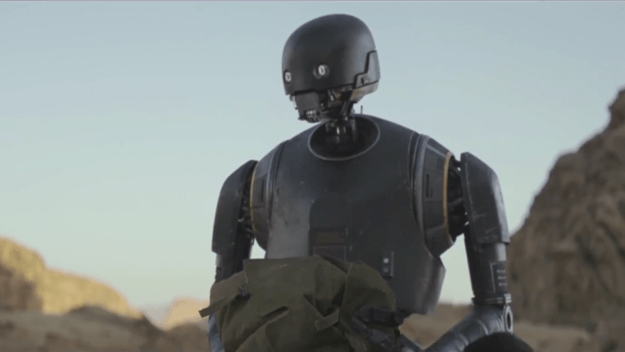 Cute beings in Star Wars: K-2SO