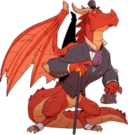 Lord Cinderpuff, Red Dragon