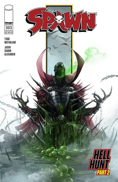 Todd McFarlane Spawn 303 cover