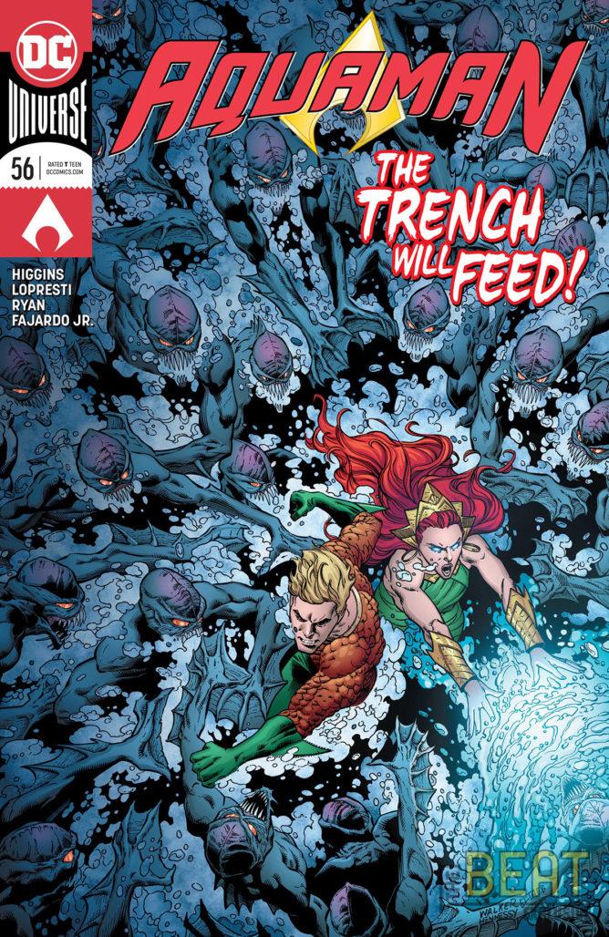 Aquaman #56 Cover