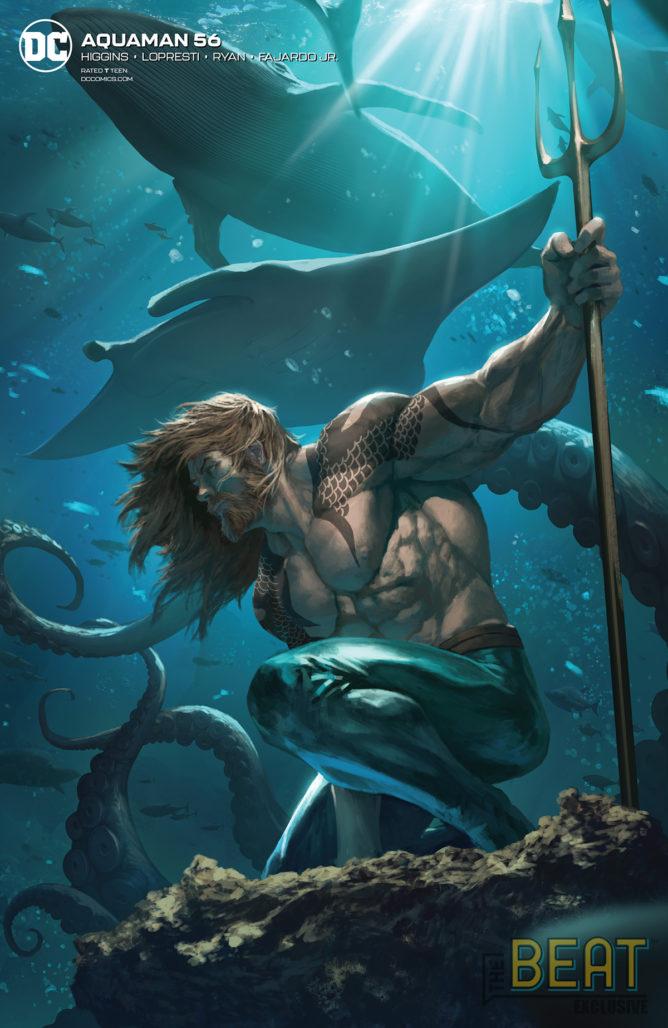 Aquaman #56 Variant Cover