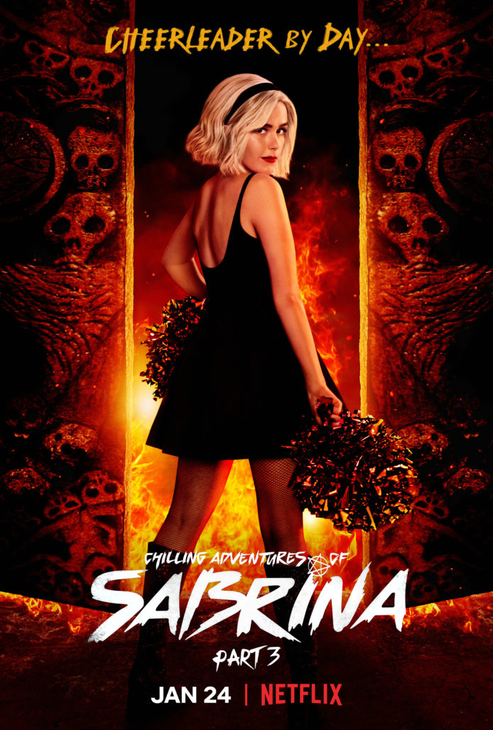 Netflix releases Chilling Adventures of Sabrina poster and music video