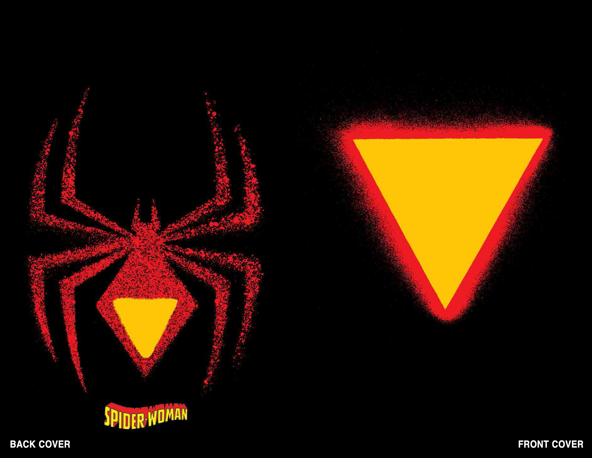 Chip Kidd die-cut Spider-Woman #1 variant