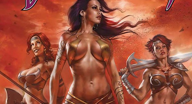 EXCLUSIVE PREVIEW: The outcast Princess of Mars is still fighting to save Barsoom in DEJAH THORIS #2