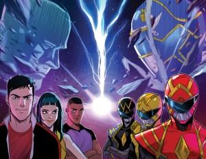 BOOM! Studios April 2020 solicits: Go Go Power Rangers #31 and #32