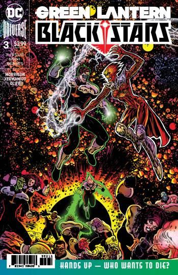 Grant Morrison's Green Lantern cover