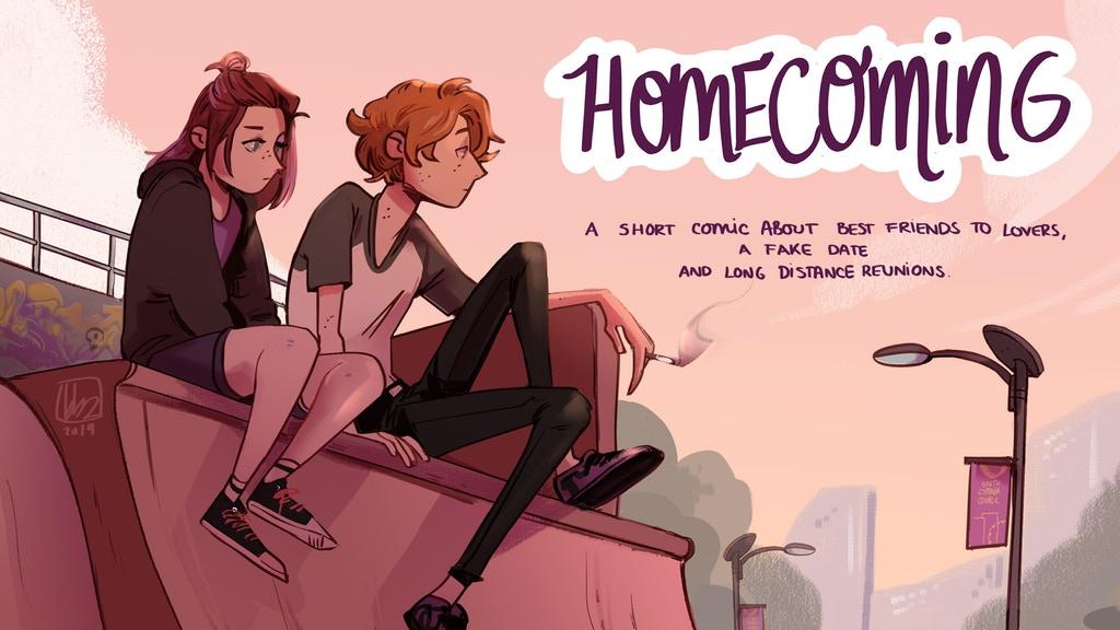 MAKE 100: Homecoming - a short comic