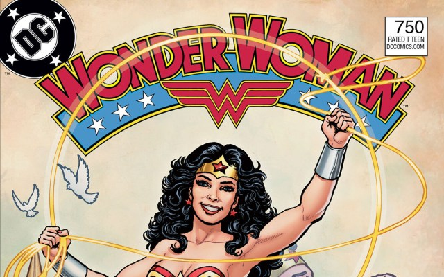 DC ROUND-UP: Wonder Woman #750 celebrates 80 years of our favorite Amazon