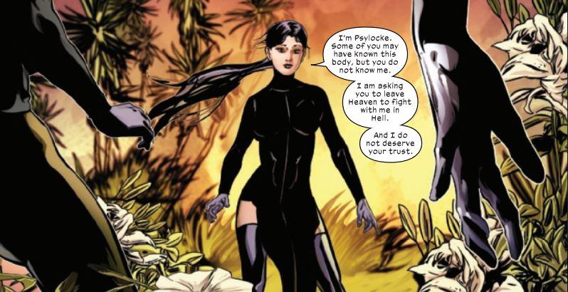Psylocke X-Women New Costume